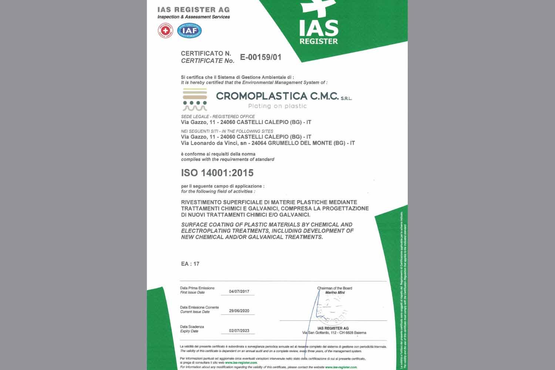 CROMOPLASTICA-CMC-SRL-ISO-14001-Certificazione-ambientale