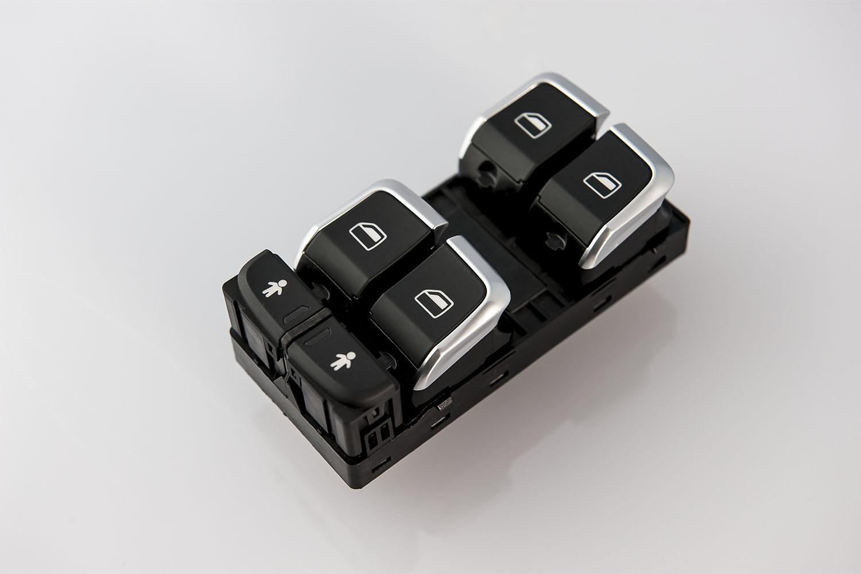 Chromage-de-pieces-plastique-Automobile-Boutons-lève-vitres-électriques